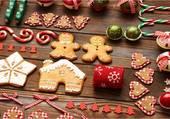 Puzzle petits gâteaux de Noël