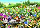 Puzzle oiseau de campagne