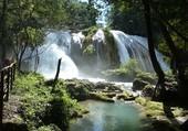 Puzzle Cascades Agua Azul - Mexique