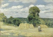 La Moisson Pissarro