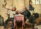 Les musiciens-norman rockwell