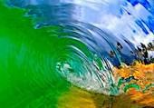 Effet de vague