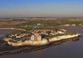 Talmont s Gironde vue aerienne