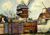 moulin de la galette  Montmartre