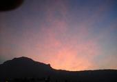 lever de soleil sur le Vercors