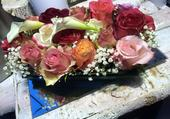 Plateau de fleurs