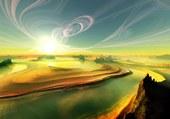 spirale dans le ciel