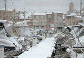 Puzzle Martigues 13 sous la neige !