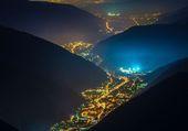 Valle de las luces en Italia
