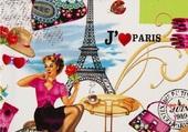 Puzzle J'AIME PARIS