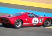 FORD GT40 en difficulté