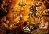 Puzzle la taverne des pirates