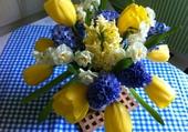Bouquet printanier .