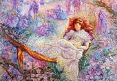 Puzzle Un rêve fleuri