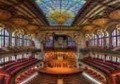 Palais de la musique - Barcelone