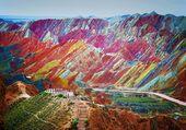 Montagnes multicolores - Danxia-Chine