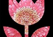 fleur tylisée