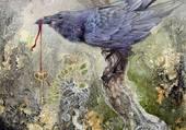 le corbeau et la clée