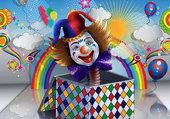 Clown surprise