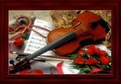 fleurs et violons