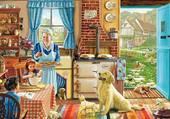 Pâtisserie avec Mamie