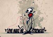 make stronger