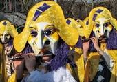 Fifres au Carnaval de Bâle (Suisse)
