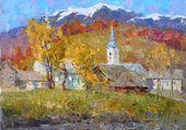 Village et son église