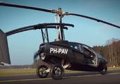 La voiture volante du future