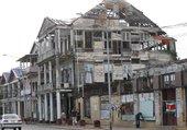Puzzle maison en destruction