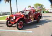 camion de pompier pompe