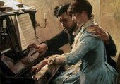 Edelfelt - At the Piano (1884)