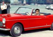 Peugeot 404 cabrio rouge