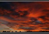couché de soleil sur MARSEILLE