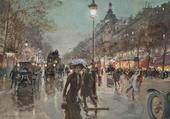 Sur les Champs Elysées