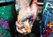 la main d'artiste