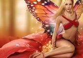 la desse papillon