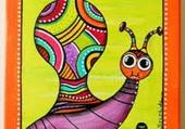 Puzzle tableau escargot