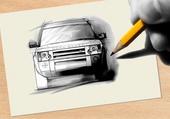 Range Rover dessin