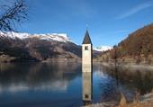 Puzzle Lago Resia (Italie)