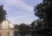 Paris depuis le Canal Saint-Martin