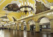 Une station du Métro de Moscou