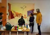 Peinture à l'Espace Jeunes