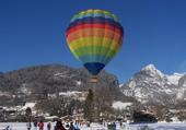 Envol de Montgolfière en Haute-Savoie