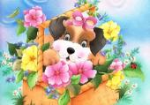 Puzzle Joyeux printemps