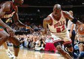 Michael Jordan et son Ballon  préféré