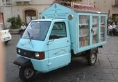 bibliothèque mobile ferrandina