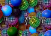 Puzzle Mosaïque de boules