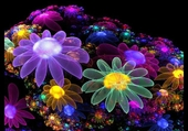 Fractale fleurie