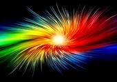 Figure abstraite et colorée